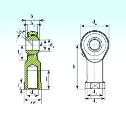 ISB TSF 30 BB-O Rodamientos De Bolas Autoalineables
