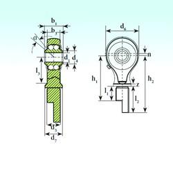 ISB TSM 15-00 BB-E Rodamientos De Bolas Autoalineables