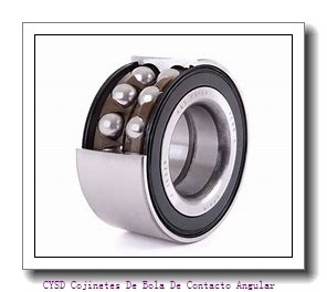 75 mm x 160 mm x 37 mm  CYSD 7315DB Cojinetes De Bola De Contacto Angular