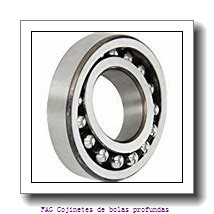 90 mm x 160 mm x 30 mm  FAG 6218-2RSR Cojinetes de bolas profundas