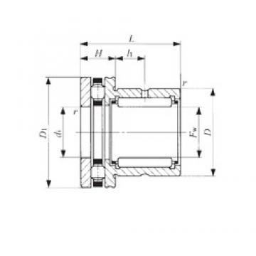 IKO NBX 6040 Cojinetes Complejos