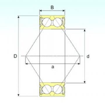 60 mm x 110 mm x 36,5 mm  CYSD 5212 2RS Cojinetes De Bola De Contacto Angular