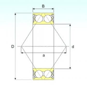 55 mm x 120 mm x 49,2 mm  CYSD 5311ZZ Cojinetes De Bola De Contacto Angular