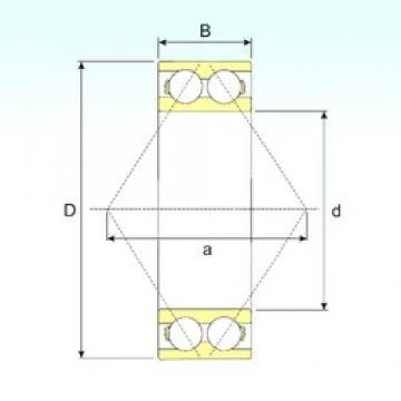 30 mm x 62 mm x 23,8 mm  CYSD 3206 Cojinetes De Bola De Contacto Angular