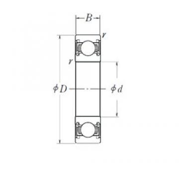 17 mm x 62 mm x 17,6 mm  FAG 546065 Cojinetes de bolas profundas