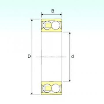 25 mm x 62 mm x 24 mm  ISB 2305-2RSTN9 Rodamientos De Bolas Autoalineables