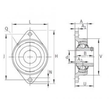 INA RCJTY1-3/4 Unidad De Rodamiento