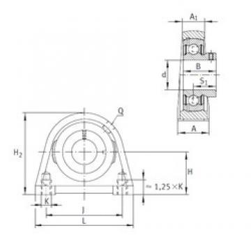 INA PSHEY50-N Unidad De Rodamiento