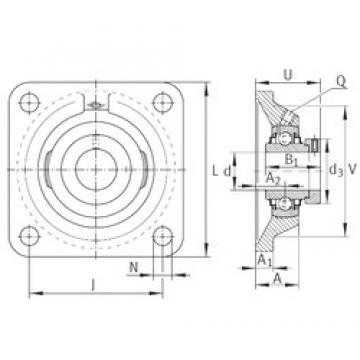 INA RCJ1-1/2 Unidad De Rodamiento
