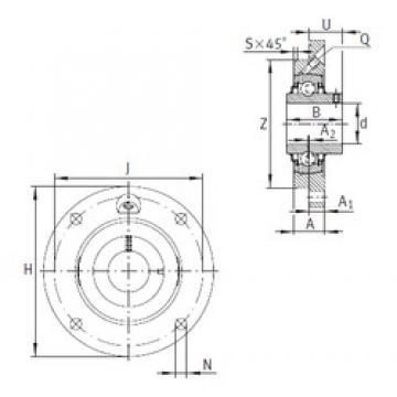 INA RMEY35-N Unidad De Rodamiento