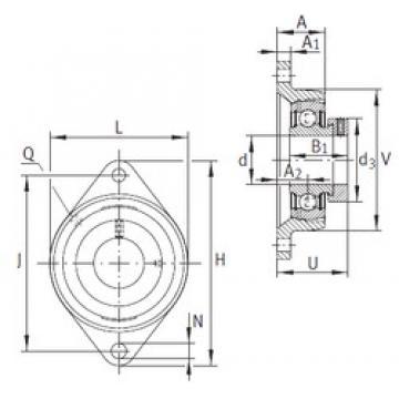 INA PCJT35-N-FA125 Unidad De Rodamiento