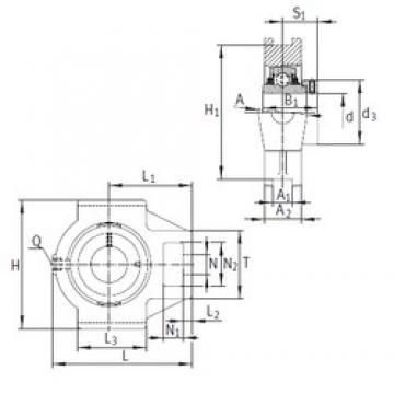 INA TTUE80 Unidad De Rodamiento