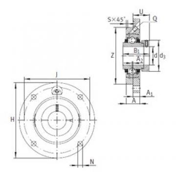 INA TME75 Unidad De Rodamiento