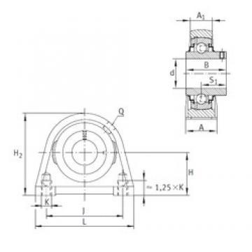 INA RSHEY35-N Unidad De Rodamiento