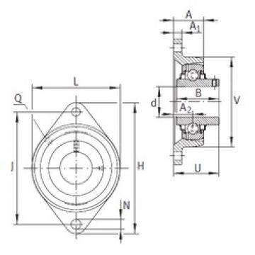 INA RCJTY50-N Unidad De Rodamiento