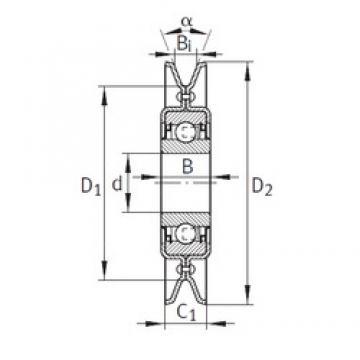 INA RSRA17-102-K0-AH01 Unidad De Rodamiento