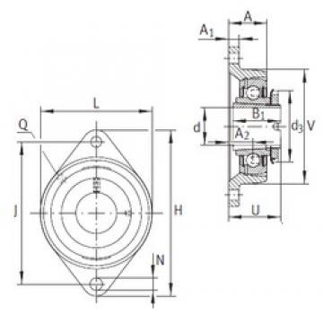 INA RCJTA20-N Unidad De Rodamiento