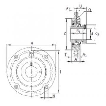 INA RFE30 Unidad De Rodamiento