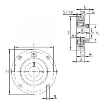 INA PME45 Unidad De Rodamiento