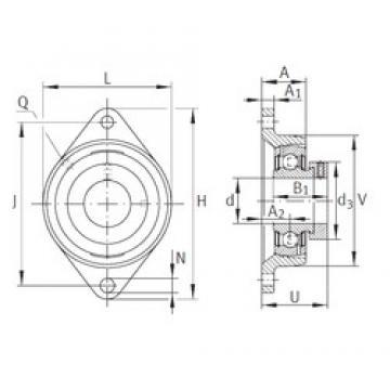 INA PCJT3/4 Unidad De Rodamiento