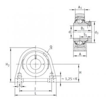 INA RSHE40-N Unidad De Rodamiento