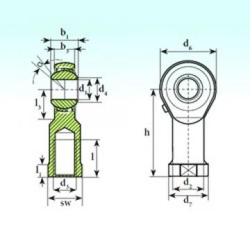 ISB TSF 16 BB-O Rodamientos De Bolas Autoalineables