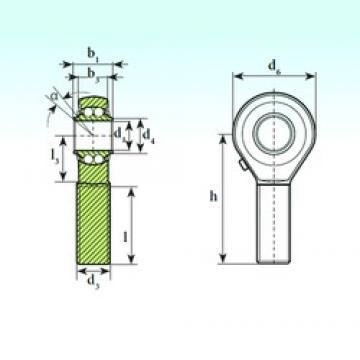 ISB TSM 08 BB Rodamientos De Bolas Autoalineables
