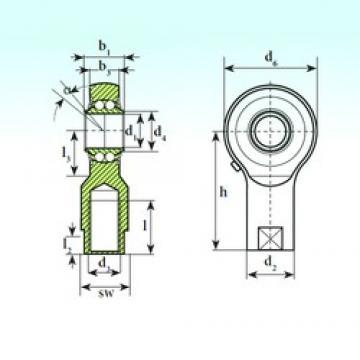 ISB TSF 10 BB-E Rodamientos De Bolas Autoalineables