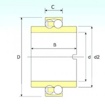 60 mm x 110 mm x 22 mm  ISB 11212 TN9 Rodamientos De Bolas Autoalineables