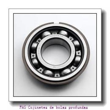 110 mm x 140 mm x 16 mm  FAG 61822-2RSR-Y Cojinetes de bolas profundas