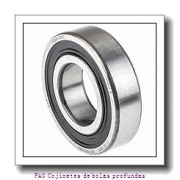 15 mm x 24 mm x 5 mm  FAG 61802-2Z Cojinetes de bolas profundas