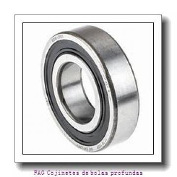 25 mm x 52 mm x 15 mm  FAG 6205-C Cojinetes de bolas profundas