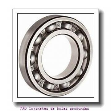 10 mm x 30 mm x 14 mm  FAG 62200-2RSR Cojinetes de bolas profundas