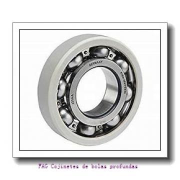 12 mm x 28 mm x 8 mm  FAG S6001-2RSR Cojinetes de bolas profundas