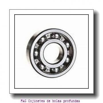 25 mm x 62 mm x 17 mm  FAG F-801841.02.KL-H95A Cojinetes de bolas profundas