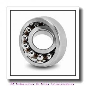 80 mm x 190 mm x 43 mm  ISB 1318 K+H318 Rodamientos De Bolas Autoalineables