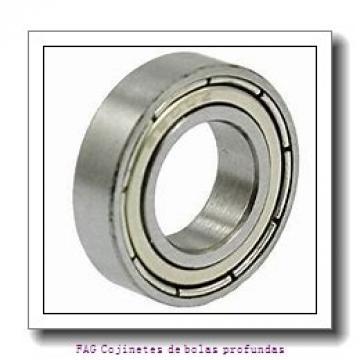 12 mm x 24 mm x 6 mm  FAG 61901-2RSR Cojinetes de bolas profundas